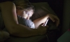 More time spent looking at screens can lead to trouble sleeping at night. Getty Images